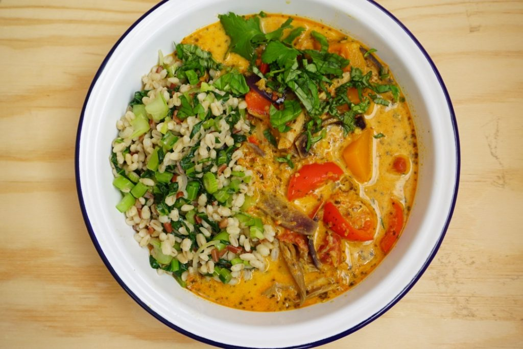 Heavenly curry recipe